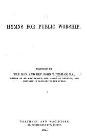 Hymns for Public Worship