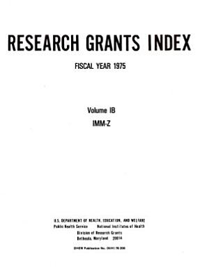 Research Grants Index