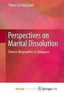Perspectives on Marital Dissolution
