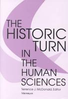 The Historic Turn in the Human Sciences PDF