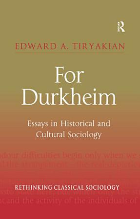 For Durkheim PDF