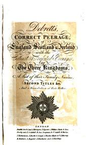 The Peerage of the United Kingdom of Great Britain & Ireland: Volume 1