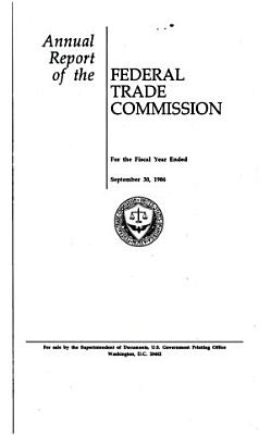 Annual Report of the Federal Trade Commission