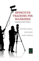 Effective Teaching for Managers PDF