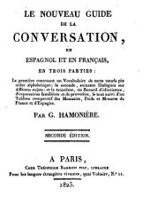 Le nouveau guide de la conversation, en espagnol et en français