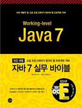 워킹레벨 자바7 실무 바이블: 고급 프로그래머가 알아야 할 프로젝트 자바