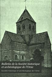 Bulletin de la Société historique et archéologique de l'Orne: Volume20