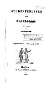 Studentenleven: augustus 1841 - februarij 1844