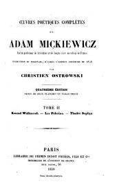 Œuvres poétiques complètes: Volume2