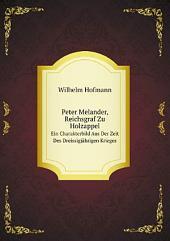Peter Melander, Reichsgraf Zu Holzappel