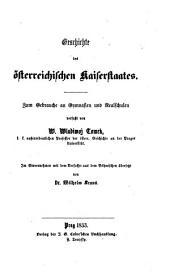 Geschichte des österreichischen Kaiserstaates