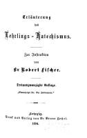 Erl  uterung der Katechismen der Joh  Freimrei  Erl  uterung des Lehrlings Katechismus PDF