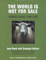 The World is Not for Sale PDF