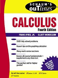 Schaum s Outline of Calculus PDF