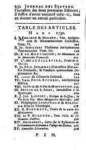 Le journal des sçavans: Volume90