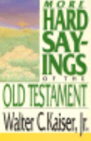 More Hard Sayings of the Old Testament PDF