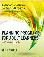 Planning Programs for Adult Learners PDF