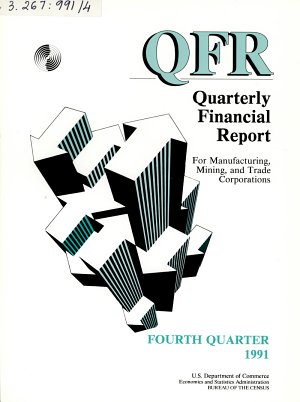 Quarterly Financial Report for Manufacturing  Mining  and Trade Corporations PDF