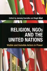 Religion  NGOs and the United Nations PDF