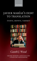 Javier Marías's Debt to Translation
