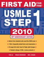 First Aid for the USMLE Step 1  2010 PDF