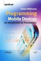 Programming Mobile Devices PDF