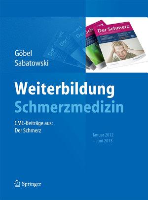Weiterbildung Schmerzmedizin PDF