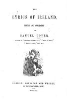 The Lyrics of Ireland  Edited and Annotated by S  Lover PDF
