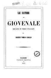Le satire di Giovenale