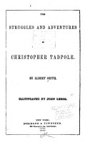 The Struggles and Adventures of Christopher Tadpole PDF