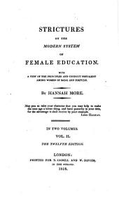 The Works of Hannah More: Strictures on female education