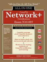 CompTIA Network  Certification All in One Exam Guide  Seventh Edition  Exam N10 007  PDF