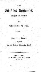 Die Ethik des Aristoteles: Band 2