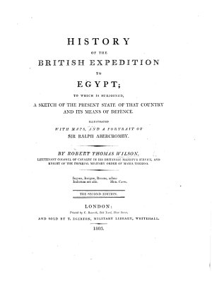 History of the British Expedition to Egypt  L P