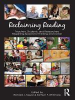 Reclaiming Reading PDF
