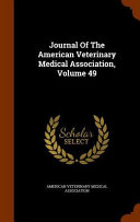 Journal of the American Veterinary Medical Association PDF