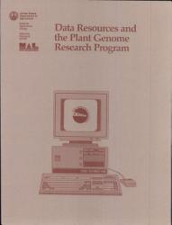 Data Resources And The Plant Genome Research Program Book PDF