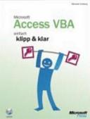 Microsoft Access VBA PDF