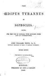 The Oedipus tyrannus of Sophocles