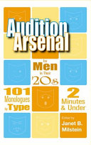 Audition Arsenal for Men in Their 20s PDF