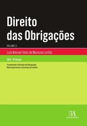 Direito das Obrigações - Volume II - 9.a Edição