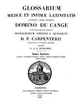 Glossarium mediæ et infimæ latinitatis