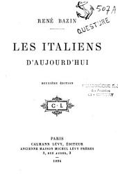 Les Italiens d'aujourd'hui