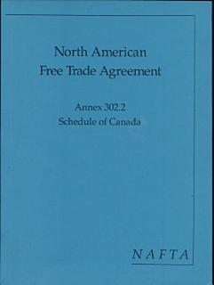 North American Free Trade Agreement Book