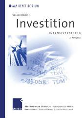 Investition Intensivtraining: Ausgabe 2