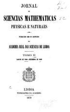 Jornal de sciencias mathem  ticas  physicas  e naturaes PDF