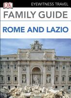 DK Eyewitness Family Guide Rome and Lazio PDF