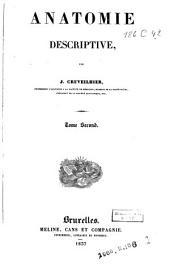 Anatomie descriptive par Jean Cruveilhier: Volume2