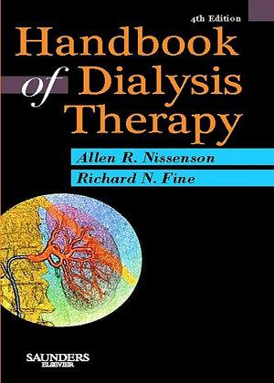 Handbook of Dialysis Therapy E Book PDF