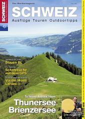 Thunersee/ Brienzersee: Wandermagazin SCHWEIZ 4_2013
